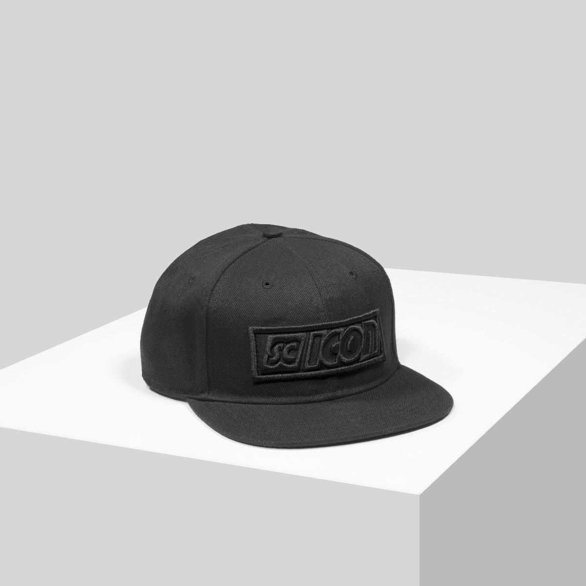 BLACKOUT LOGO SNAPBACK CAP