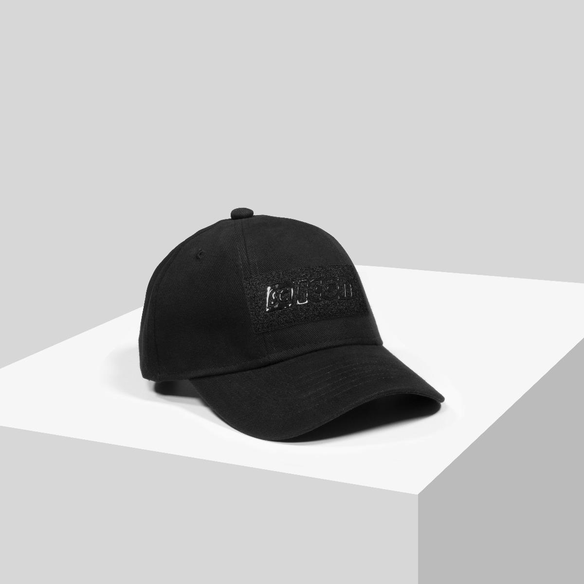 BLACKOUT LOGO BASEBALL CAP